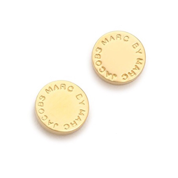 5d54bd6a6 Marc by Marc Jacobs logo disc stud earrings. M_5b4de10a194dad4d80e2b9cf